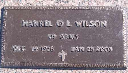 WILSON (VETERAN), HARREL O L - White County, Arkansas | HARREL O L WILSON (VETERAN) - Arkansas Gravestone Photos