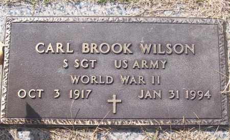 WILSON (VETERAN WWII), CARL BROOK - White County, Arkansas | CARL BROOK WILSON (VETERAN WWII) - Arkansas Gravestone Photos