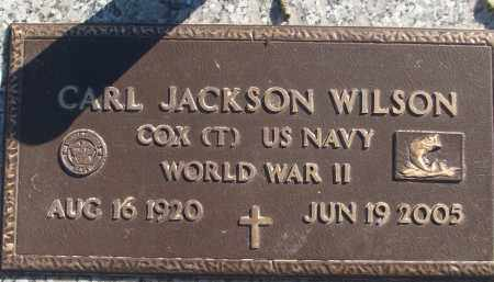 WILSON (VETERAN WWII), CARL JACKSON - White County, Arkansas | CARL JACKSON WILSON (VETERAN WWII) - Arkansas Gravestone Photos