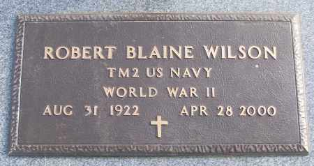 WILSON (VETERAN WWII), ROBERT BLAINE - White County, Arkansas | ROBERT BLAINE WILSON (VETERAN WWII) - Arkansas Gravestone Photos