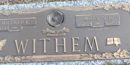 WITHEM (VETERAN WWII), MARVIN E - White County, Arkansas   MARVIN E WITHEM (VETERAN WWII) - Arkansas Gravestone Photos