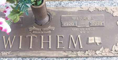 WITHEM (VETERAN WWII), WILBURN S - White County, Arkansas | WILBURN S WITHEM (VETERAN WWII) - Arkansas Gravestone Photos