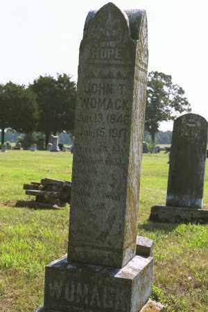 WOMACK, JOHN T. - White County, Arkansas | JOHN T. WOMACK - Arkansas Gravestone Photos