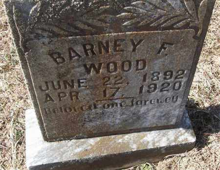 WOOD, BARNEY F. - White County, Arkansas | BARNEY F. WOOD - Arkansas Gravestone Photos