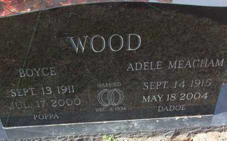 MEACHAM WOOD, ADELE - White County, Arkansas | ADELE MEACHAM WOOD - Arkansas Gravestone Photos