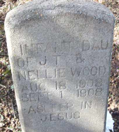 WOOD, INFANT DAUGHTER - White County, Arkansas | INFANT DAUGHTER WOOD - Arkansas Gravestone Photos