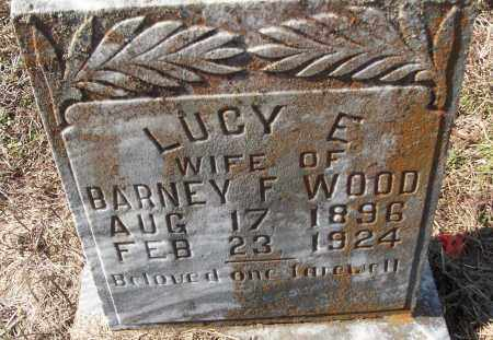 WOOD, LUCY E. - White County, Arkansas | LUCY E. WOOD - Arkansas Gravestone Photos