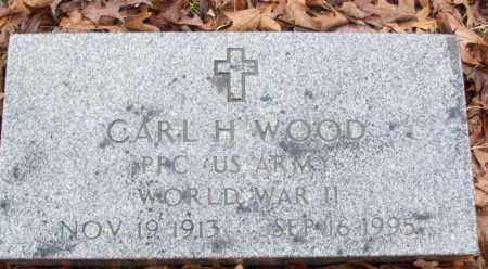 WOOD (VETERAN WWII), CARL H - White County, Arkansas | CARL H WOOD (VETERAN WWII) - Arkansas Gravestone Photos