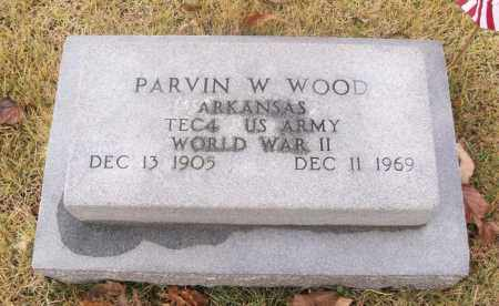 WOOD (VETERAN WWII), PARVIN W - White County, Arkansas | PARVIN W WOOD (VETERAN WWII) - Arkansas Gravestone Photos