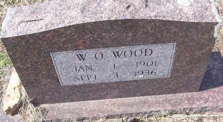 WOOD, W.O. - White County, Arkansas | W.O. WOOD - Arkansas Gravestone Photos