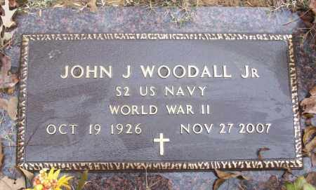 WOODALL, JR  (VETERAN WWII), JOHN J - White County, Arkansas | JOHN J WOODALL, JR  (VETERAN WWII) - Arkansas Gravestone Photos