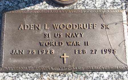 WOODRUFF, SR  (VETERAN WWII), ADEN L - White County, Arkansas | ADEN L WOODRUFF, SR  (VETERAN WWII) - Arkansas Gravestone Photos