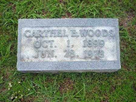 "WOODS, CARTHEL ""BILLIE"" E. - White County, Arkansas 