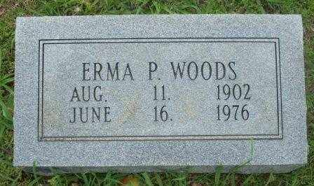 WOODS, ERMA - White County, Arkansas | ERMA WOODS - Arkansas Gravestone Photos