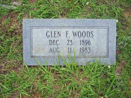 WOODS, GLEN - White County, Arkansas | GLEN WOODS - Arkansas Gravestone Photos