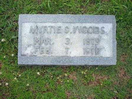 WOODS, MYRTIE - White County, Arkansas | MYRTIE WOODS - Arkansas Gravestone Photos