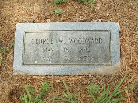 WOODWARD, GEORGE W. - White County, Arkansas | GEORGE W. WOODWARD - Arkansas Gravestone Photos