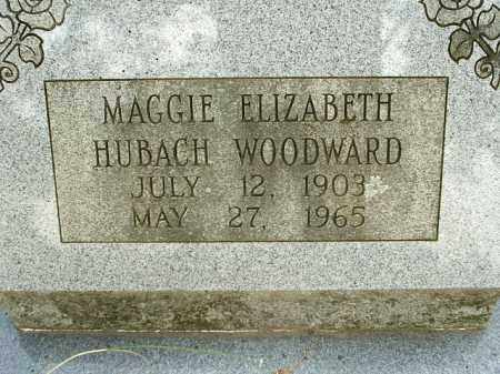 WOODWARD  2, MAGGIE ELIZABETH - White County, Arkansas | MAGGIE ELIZABETH WOODWARD  2 - Arkansas Gravestone Photos