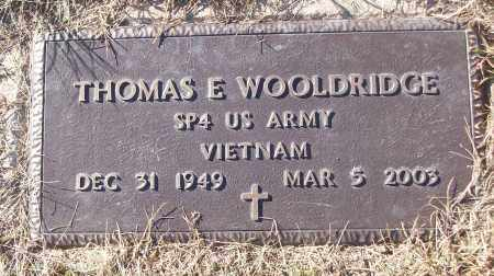 WOOLDRIDGE (VETERAN VIET), THOMAS E - White County, Arkansas | THOMAS E WOOLDRIDGE (VETERAN VIET) - Arkansas Gravestone Photos
