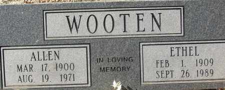 WOOTEN, ALLEN - White County, Arkansas | ALLEN WOOTEN - Arkansas Gravestone Photos