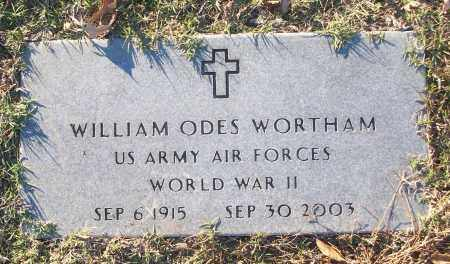 WORTHAM (VETERAN WWII), WILLIAM ODES - White County, Arkansas | WILLIAM ODES WORTHAM (VETERAN WWII) - Arkansas Gravestone Photos