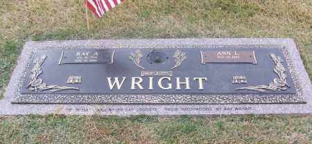 WRIGHT  (VETERAN), RAY A - White County, Arkansas | RAY A WRIGHT  (VETERAN) - Arkansas Gravestone Photos