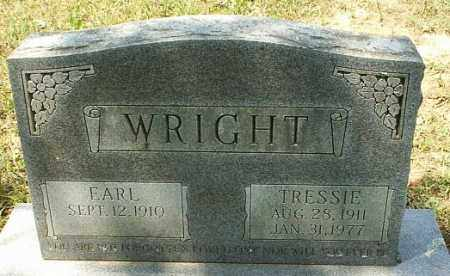 WRIGHT, TRESSIE - White County, Arkansas | TRESSIE WRIGHT - Arkansas Gravestone Photos