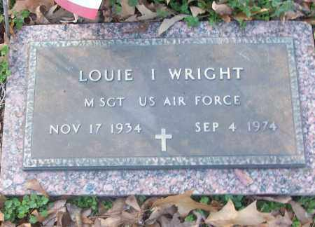 WRIGHT (VETERAN), LOUIE I - White County, Arkansas | LOUIE I WRIGHT (VETERAN) - Arkansas Gravestone Photos