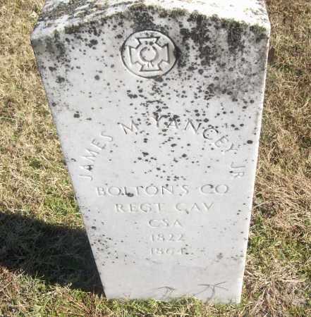 YANCEY, JR  (VETERAN CSA), JAMES M - White County, Arkansas | JAMES M YANCEY, JR  (VETERAN CSA) - Arkansas Gravestone Photos