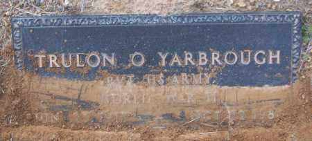 YARBROUGH (VETERAN WWII), TRULON O - White County, Arkansas | TRULON O YARBROUGH (VETERAN WWII) - Arkansas Gravestone Photos