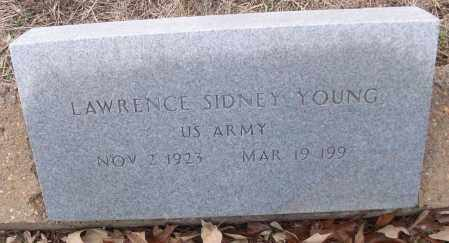 YOUNG (VETERAN), LAWRENCE SIDNEY - White County, Arkansas | LAWRENCE SIDNEY YOUNG (VETERAN) - Arkansas Gravestone Photos