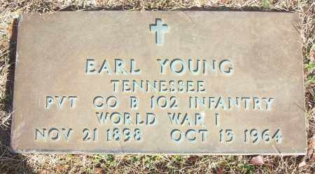 YOUNG (VETERAN WWI), EARL - White County, Arkansas | EARL YOUNG (VETERAN WWI) - Arkansas Gravestone Photos