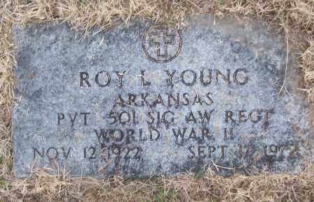 YOUNG (VETERAN WWII), ROY L - White County, Arkansas | ROY L YOUNG (VETERAN WWII) - Arkansas Gravestone Photos