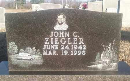 ZIEGLER, JOHN C. - White County, Arkansas | JOHN C. ZIEGLER - Arkansas Gravestone Photos