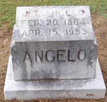 ANGELO, J. T. - Woodruff County, Arkansas | J. T. ANGELO - Arkansas Gravestone Photos