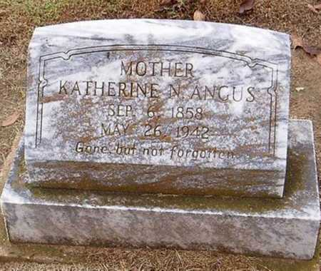 ANGUS, KATHERINE N. - Woodruff County, Arkansas | KATHERINE N. ANGUS - Arkansas Gravestone Photos