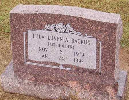 BACKUS, LULA LUVENIA - Woodruff County, Arkansas | LULA LUVENIA BACKUS - Arkansas Gravestone Photos