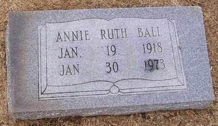 BALL, ANNIE RUTH - Woodruff County, Arkansas | ANNIE RUTH BALL - Arkansas Gravestone Photos