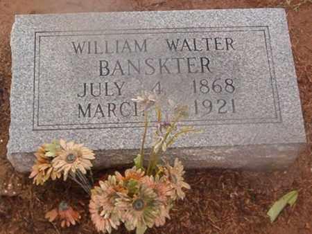 BANSKTER, WILLIAM WALTER - Woodruff County, Arkansas | WILLIAM WALTER BANSKTER - Arkansas Gravestone Photos