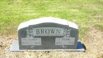 CHARLES BROWN, L. PEARL - Woodruff County, Arkansas | L. PEARL CHARLES BROWN - Arkansas Gravestone Photos