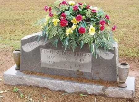 BROWN, ELMO BUDDY - Woodruff County, Arkansas | ELMO BUDDY BROWN - Arkansas Gravestone Photos