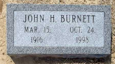 BURNETT, JOHN H. - Woodruff County, Arkansas | JOHN H. BURNETT - Arkansas Gravestone Photos