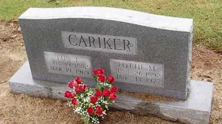 CARIKER, LON J. - Woodruff County, Arkansas | LON J. CARIKER - Arkansas Gravestone Photos