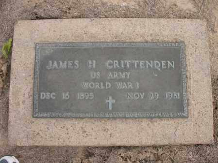 CRITTENDEN (VETERAN WWI), JAMES H - Woodruff County, Arkansas | JAMES H CRITTENDEN (VETERAN WWI) - Arkansas Gravestone Photos