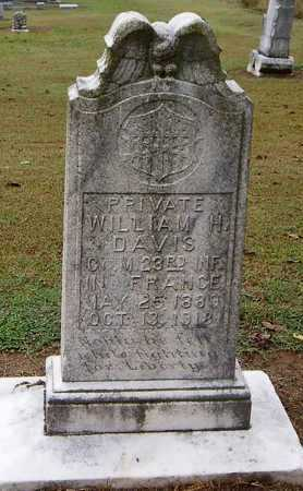 DAVIS (VETERAN WWI, KIA), WILLIAM H - Woodruff County, Arkansas | WILLIAM H DAVIS (VETERAN WWI, KIA) - Arkansas Gravestone Photos