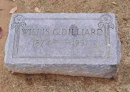 DILLIARD, WILLIS G. - Woodruff County, Arkansas | WILLIS G. DILLIARD - Arkansas Gravestone Photos
