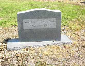 DRENNAN, MOLLIE  T. - Woodruff County, Arkansas | MOLLIE  T. DRENNAN - Arkansas Gravestone Photos