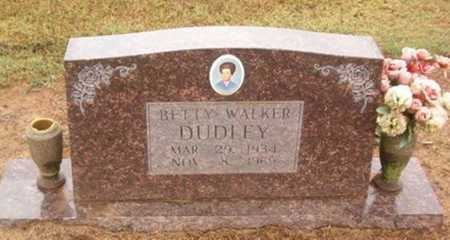 WALKER DUDLEY, BETTY - Woodruff County, Arkansas | BETTY WALKER DUDLEY - Arkansas Gravestone Photos