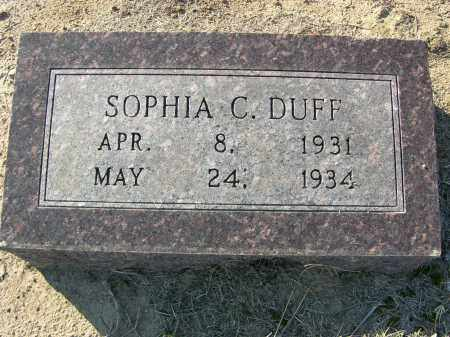 DUFF, SOPHIA C. - Woodruff County, Arkansas | SOPHIA C. DUFF - Arkansas Gravestone Photos