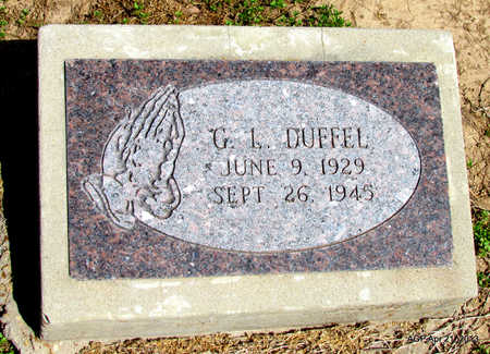 DUFFEL, G. L. - Woodruff County, Arkansas | G. L. DUFFEL - Arkansas Gravestone Photos